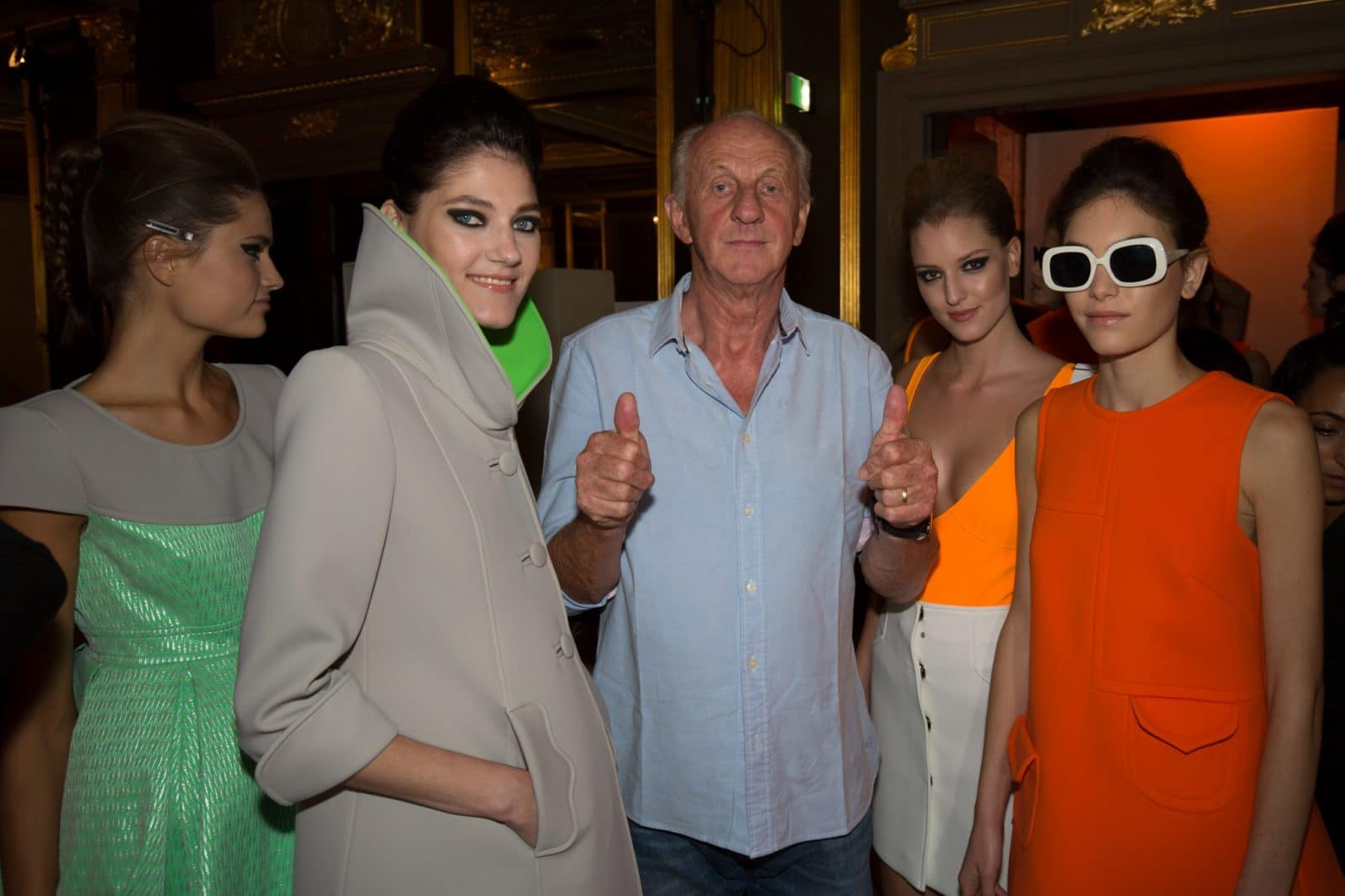 """Paul Costello SS16 fashion collection, """"New Reflections"""""""