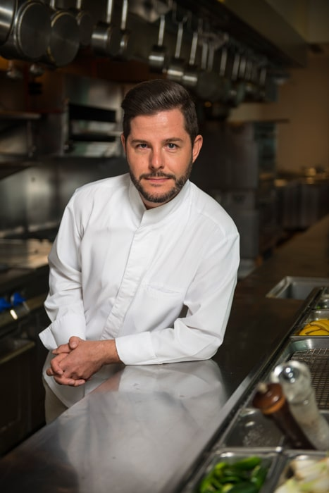 Chef Olivier Deboise Mendez from J&G Grill at St. Regis Hotel in Mexico City