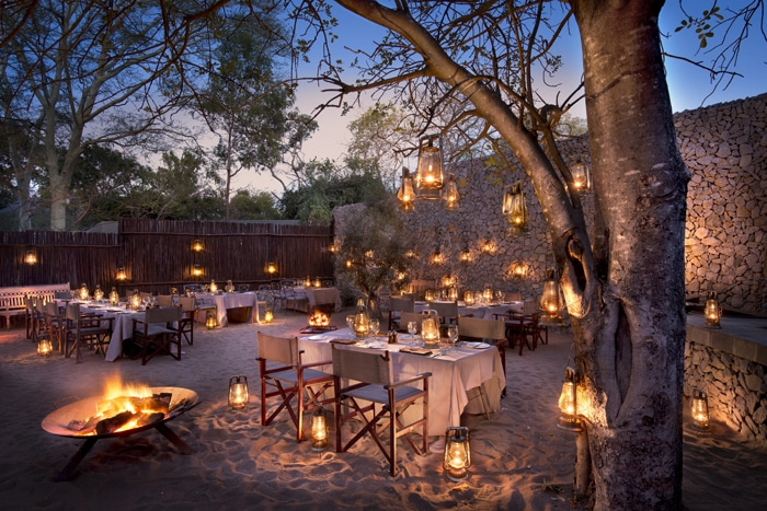 andBeyond Ngala Safari Lodge Boma Dining