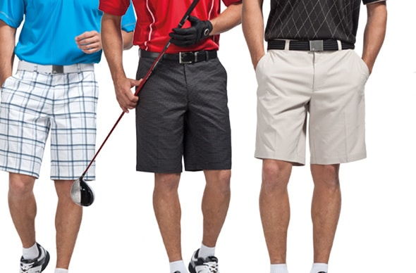 golf shorts attire