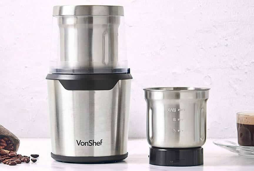 2-in-1 Coffee Grinder by VonShef