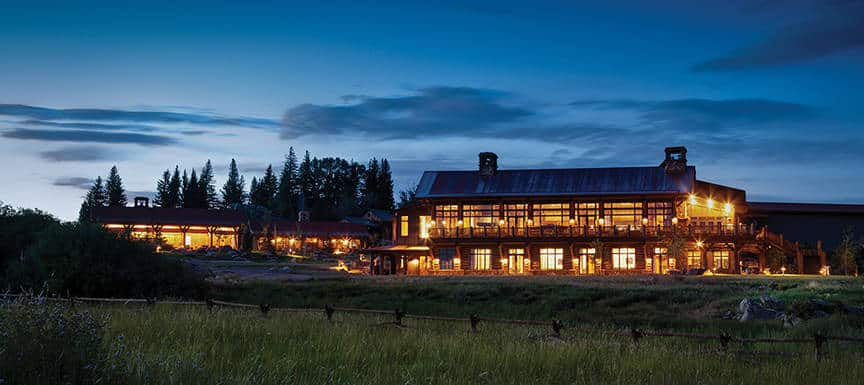 Lodge & Spa at Brush Creek Rach, Saratoga, Wyoming is one of the 50 Best Hotels in the United States