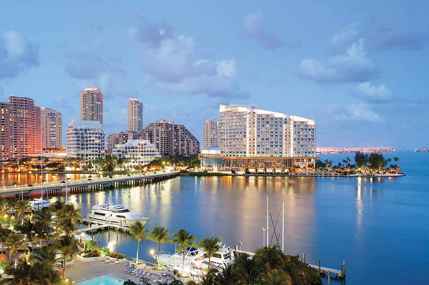 Mandarin Oriental Miami is one of the 50 Best Hotels in the United States