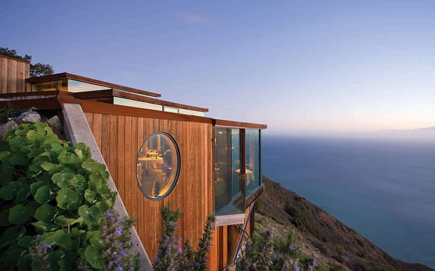 Post Ranch Inn in Big Sur, CA is one of the 50 Best Hotels in the United States