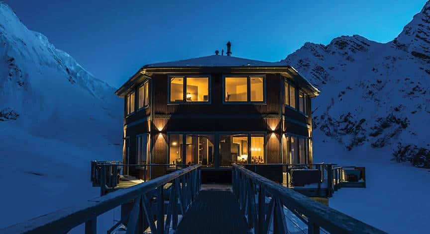 Sheldon Chalet, Alaska is one of the 50 Best Hotels in the United States