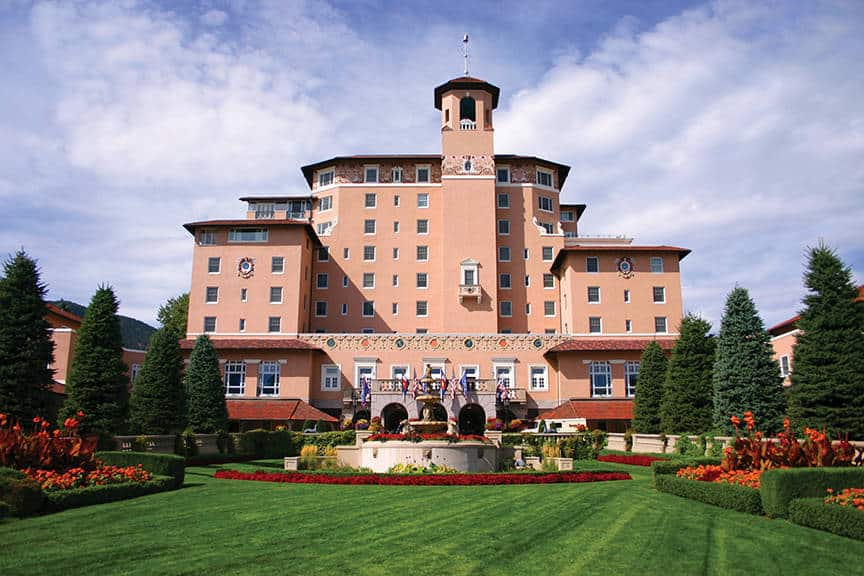 The Broadmoor hotel, Colorado Spring is one of the 50 Best Hotels in the United States