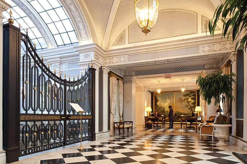 The Jefferson Hotel Washington DC is one of the 50 Best Hotels in the United States