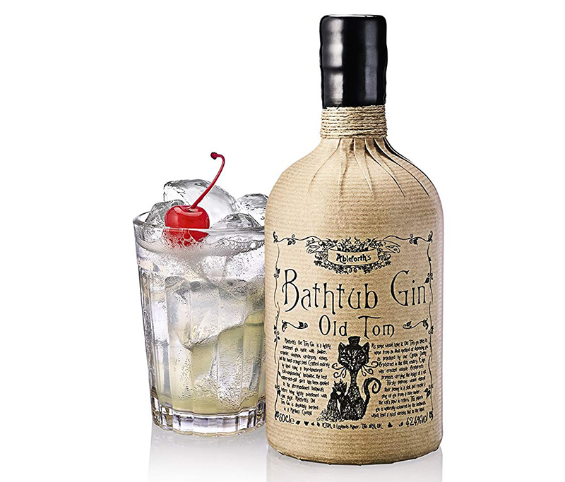 Ableforth's Bathtub Gin, Old Tom Gin cocktail
