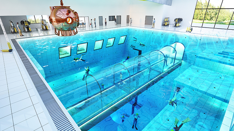 Deepspot, World's Deepest Pool In The World
