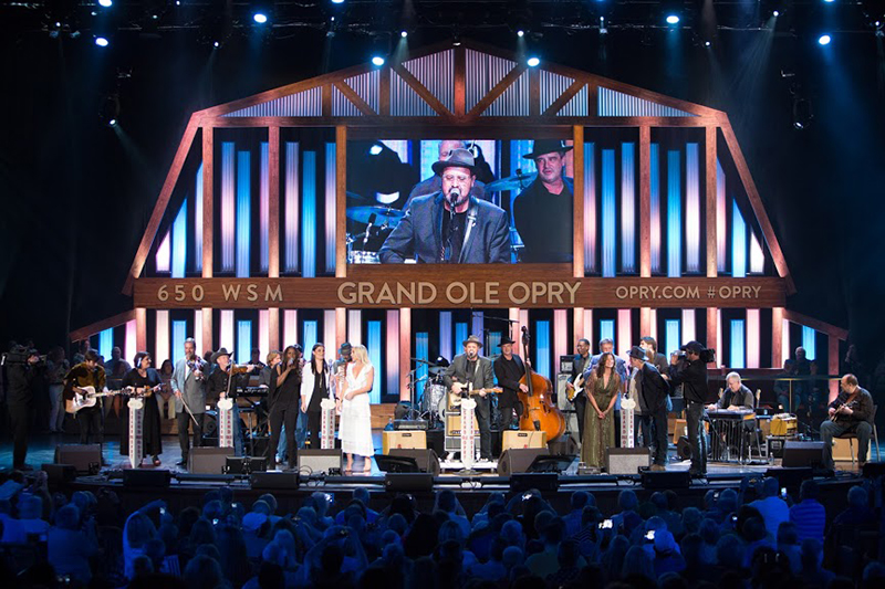 Grand Ole Opry House Stage Performance. Photo credit Chris Hollo