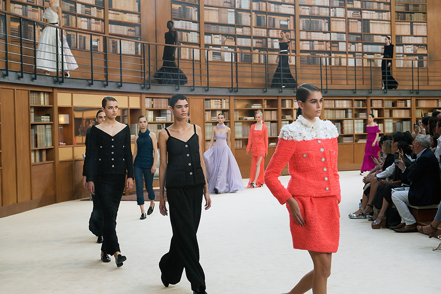 Virginie Viard's first Couture Collection