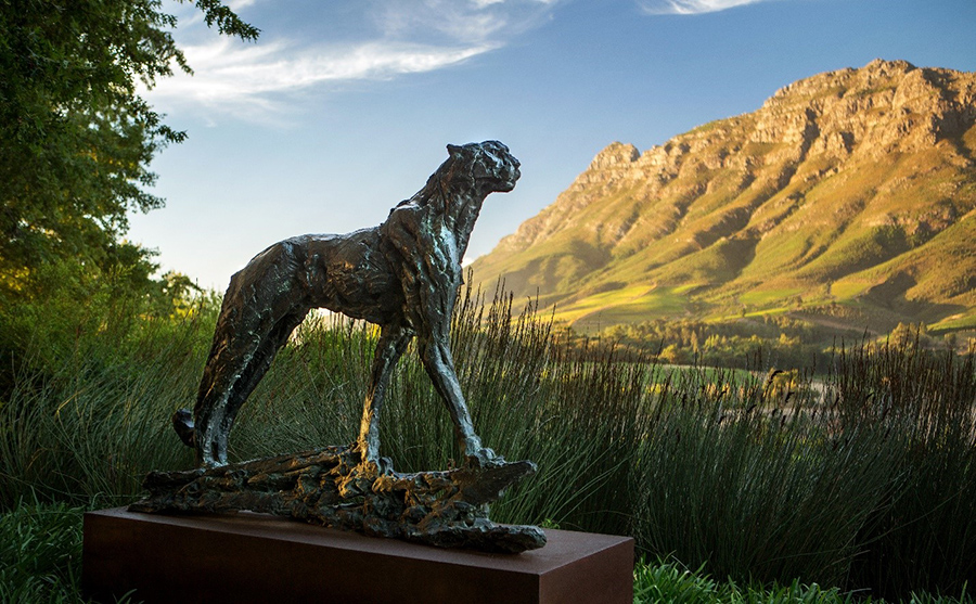 Delaire Graff Estate, Hotel with Extraordinary Art Collections