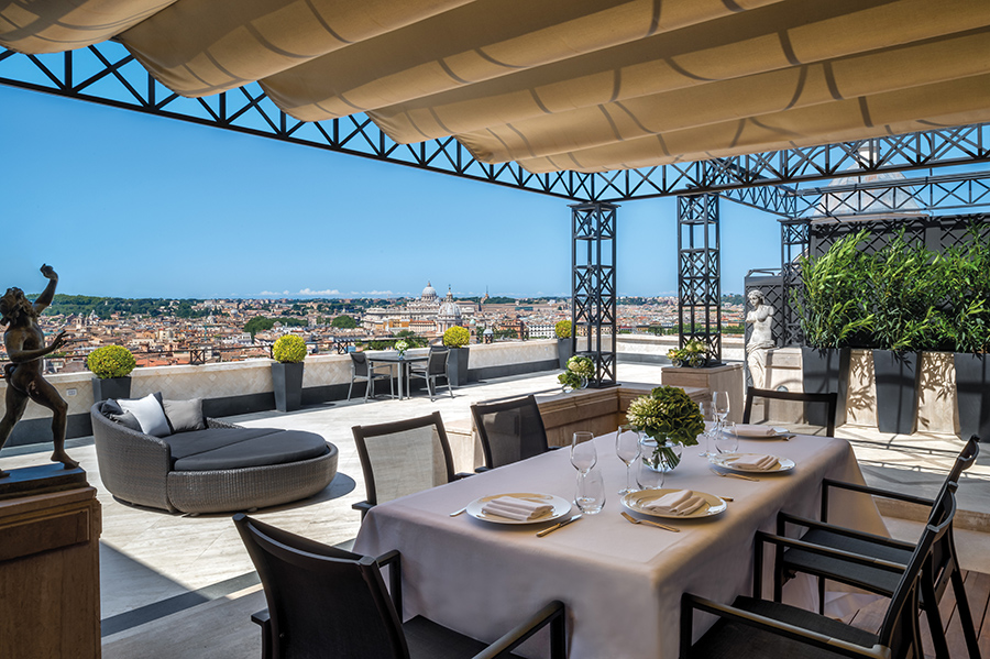 Hotel Hassler Italy is considered one of the lavish hotels for Solo Travel