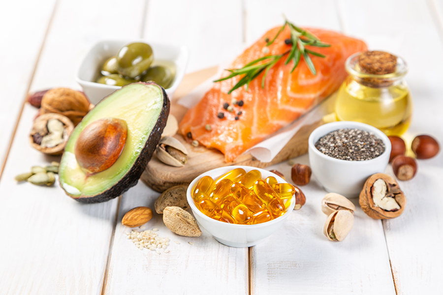 healthy unsaturated fats, omega 3 for a female bodybuilder
