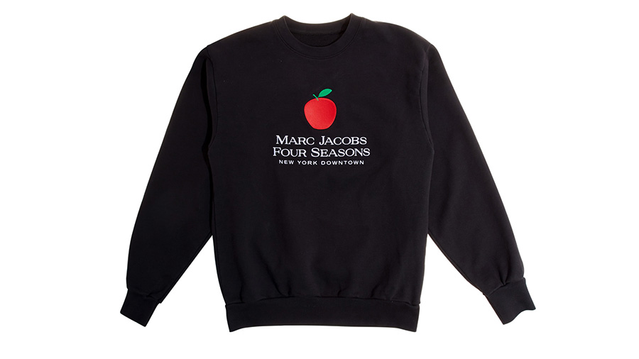 Four Seasons Hotel NY Downtown will have Marc Jacobs sweatshirt in guest rooms and suites in celebration of New York Fashion Week 2019.