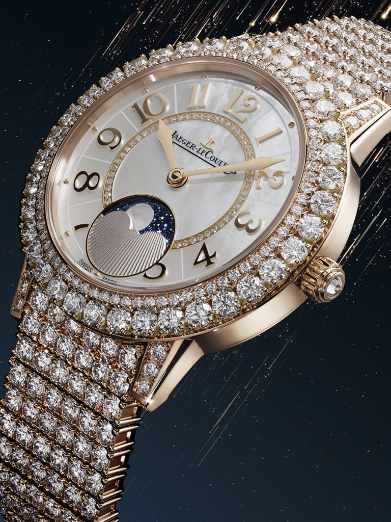 Jaeger-LeCoultre's Moonphase for Women: A spectacle of Diamonds