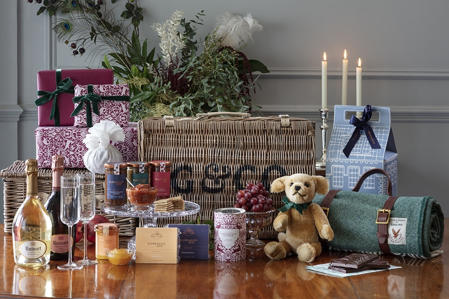 Gleneagles & Co Luxury Hamper, a great christmas gift for anyone
