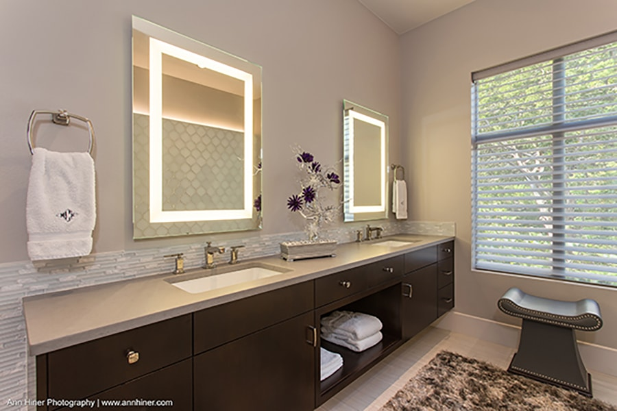 Plaza Mirror LED Lighting, great addition to your home and a perfect christmas gift!