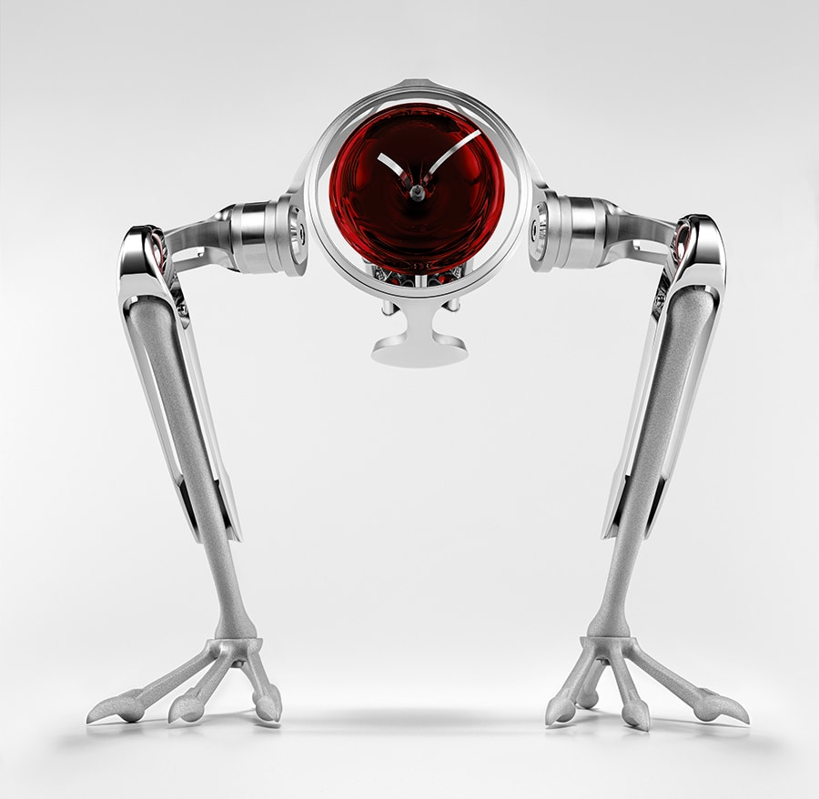 T-Rex Face Red table watch is the perfect gift for the holidays