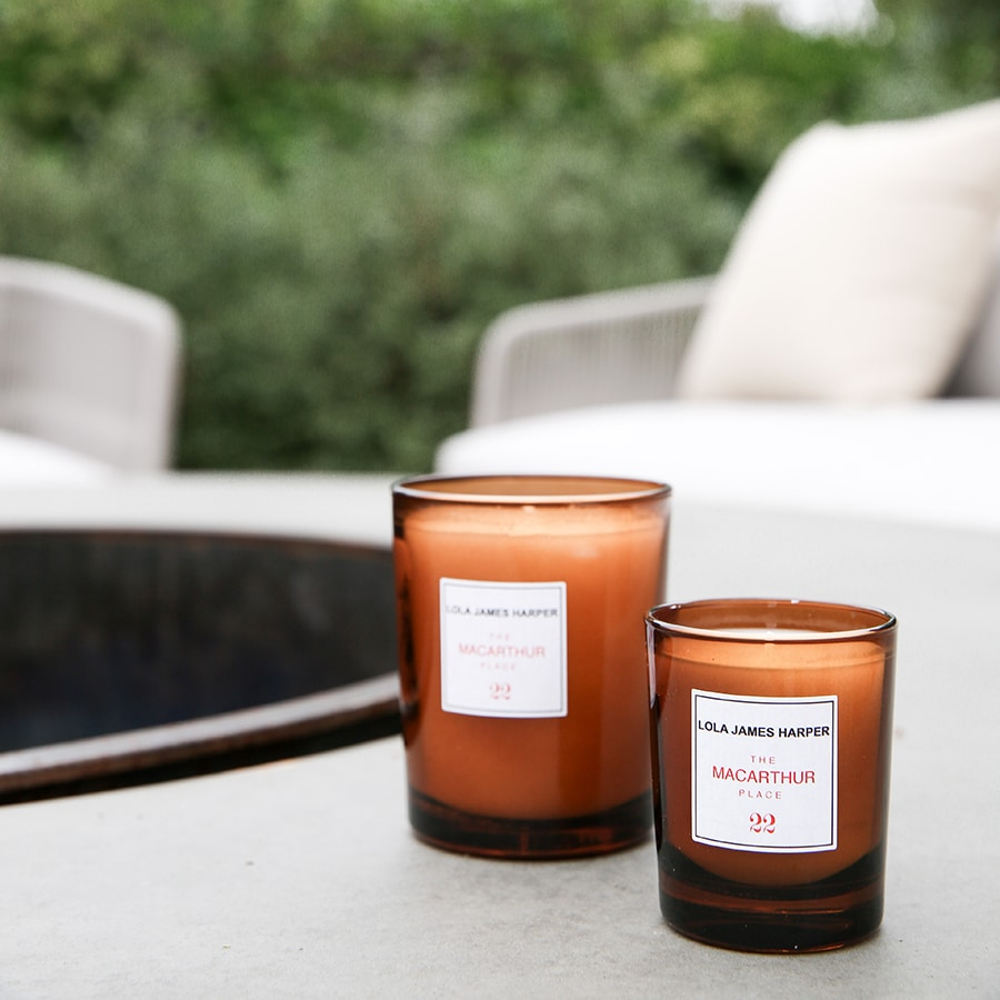 The MacArthur Place 22 candle, a good christmas gift