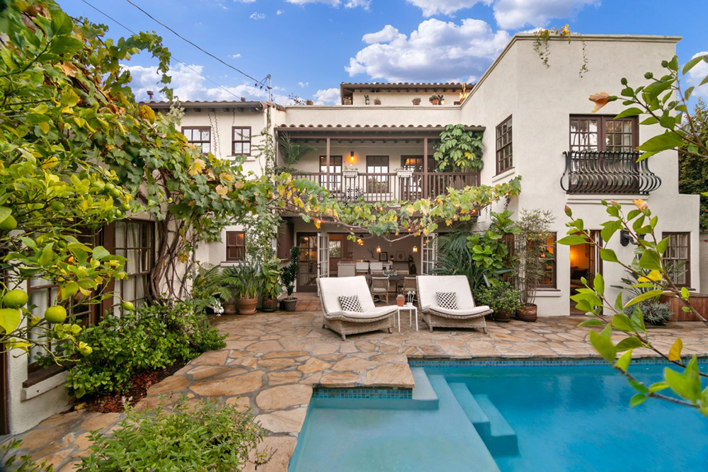 Señorita' Songwriter Sells Gorgeous 1930's L.A. Home