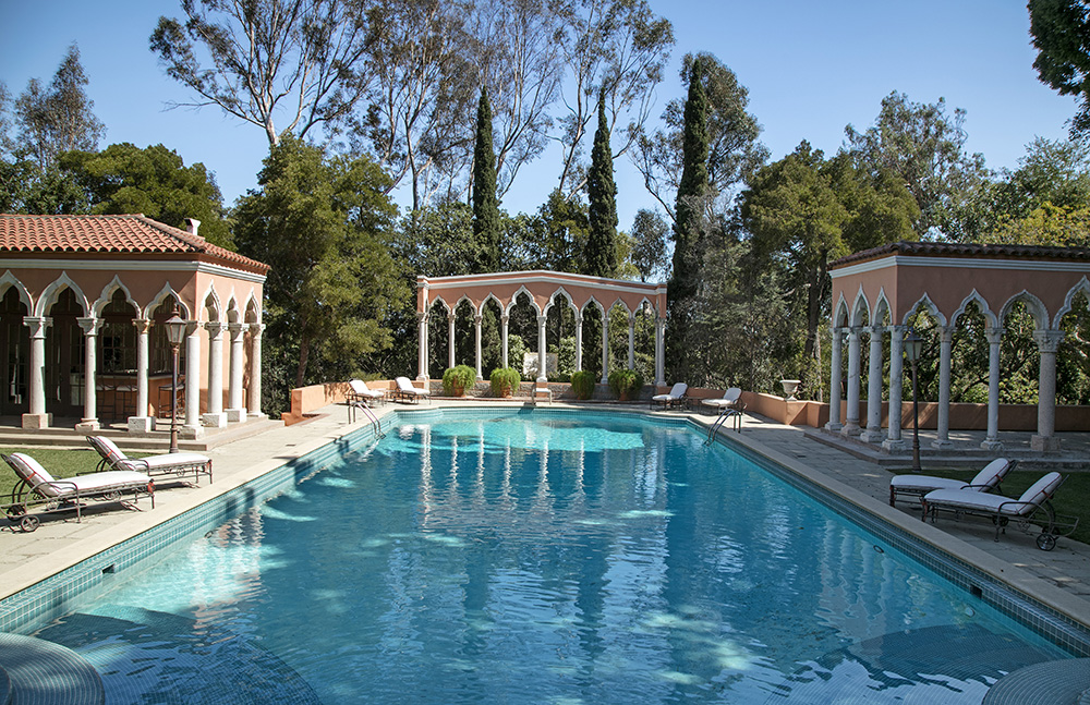 mansion on the market in Bel Air stratosphere-priced at $225 million, the elegant Beverly House's price tag of $125 million might be a bargain.