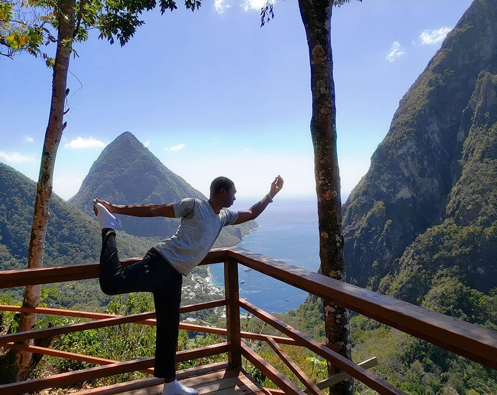 Aldon Yoga at Ladera Resort in St. Lucia