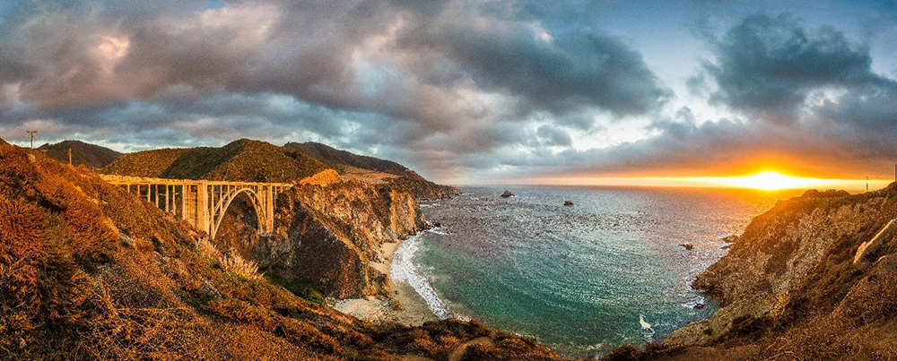 Big Sur California is a luxury destination to celebrate mother's day