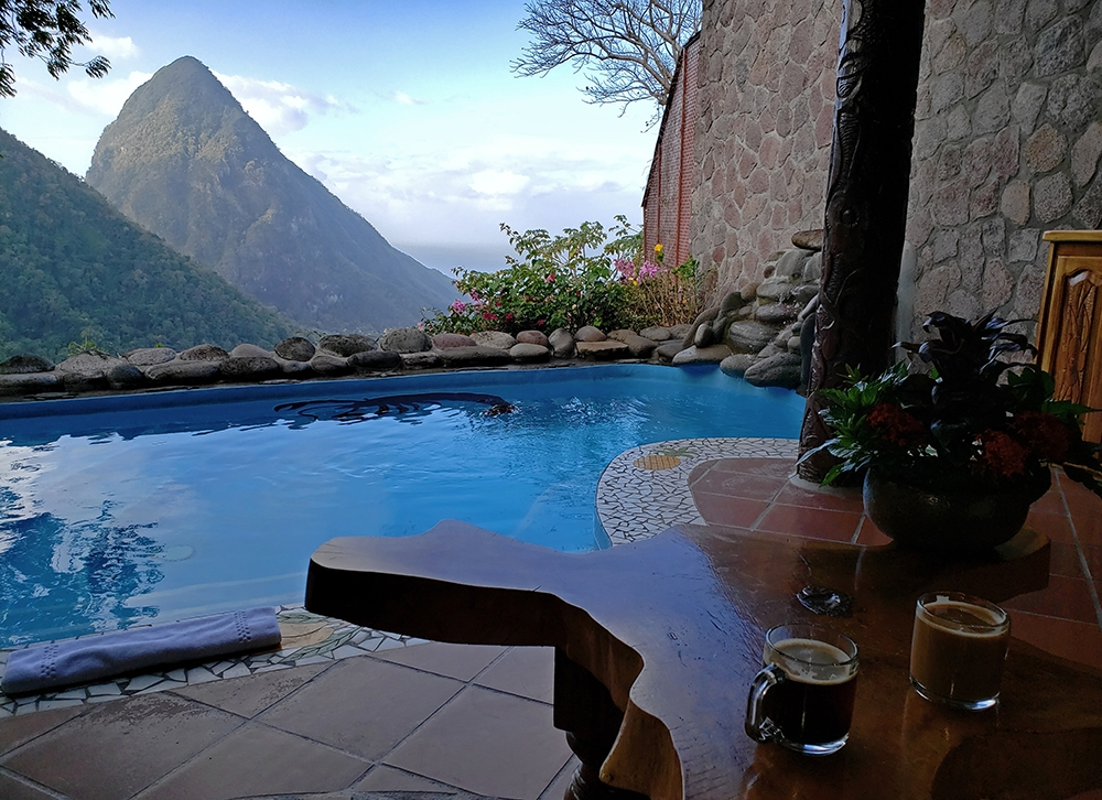 Ladera Coffee at Ladera Resort in St. Lucia