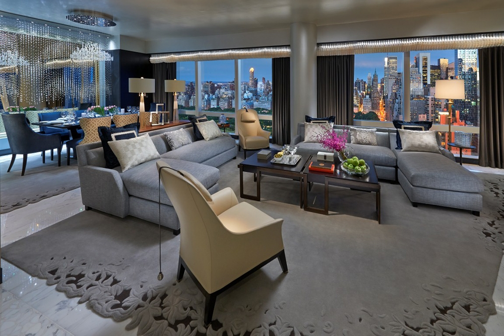 Suite 5000 at the Mandarin Oriental, NYC