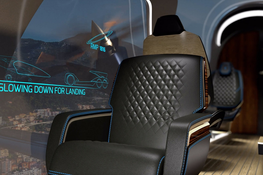 Embraer's Pulse Concept defines the future of Air Travel