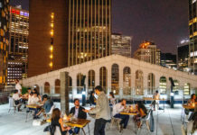 Resident, NYC dining experience