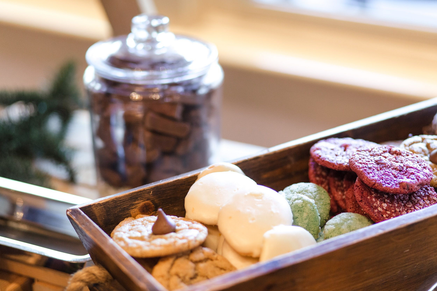 Cookies Served at Porching Inn at Montage Palmetto Bluff