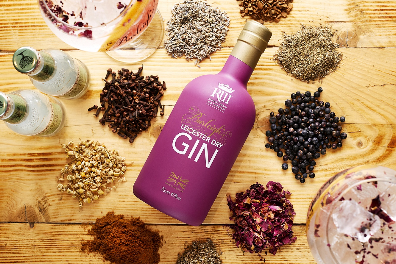 """Burleighs Gins"""" also produced """"King Richard 111 Gin"""