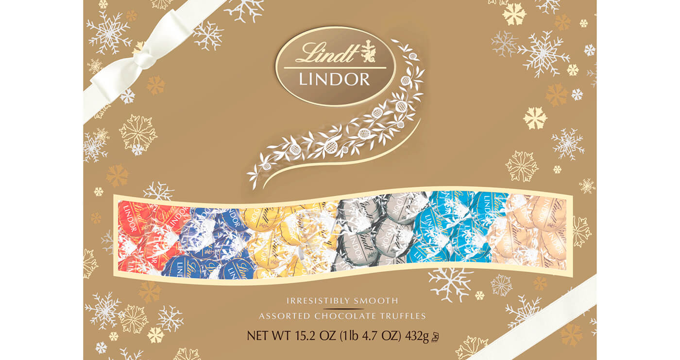 For The Sweet Tooth - Lindt Master Chocolatiers gift