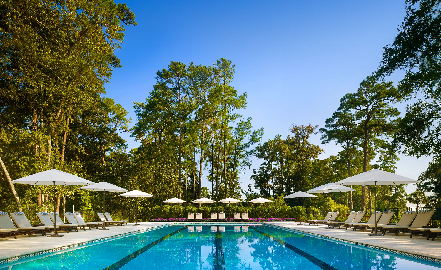 spa pool at Montage Palmetto Bluff