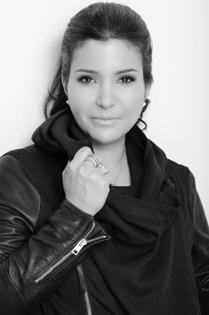 Karina Gomez, fashion designer and CEO of Karigam