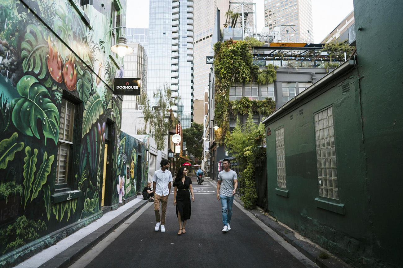 Meyers Place Street Art is one of Victorias most exclusive luxury experiences