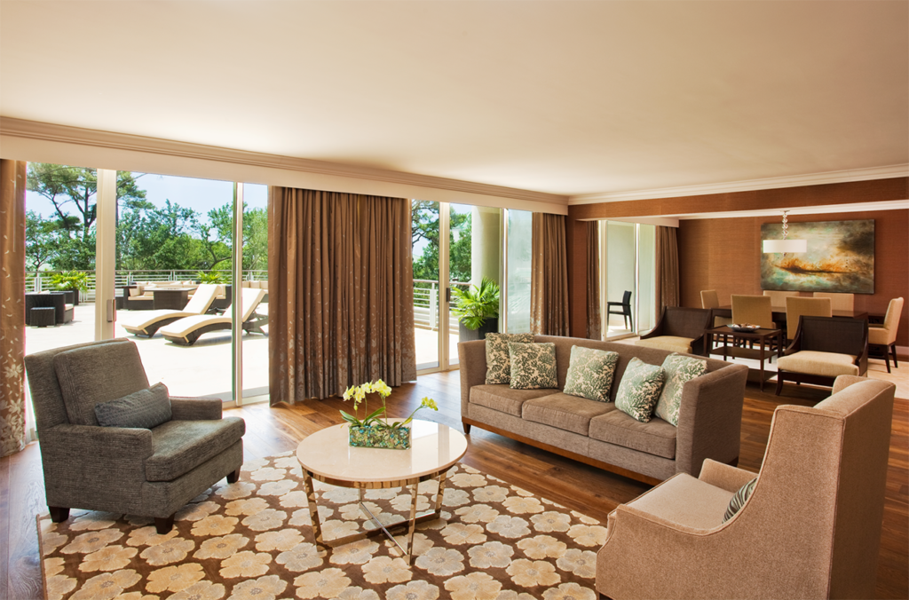 Presidential Suite at the Westin Hilton Head Resort & Spa