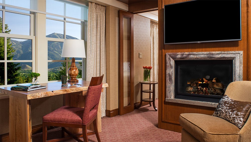 Sun Valley Lodge accommodations