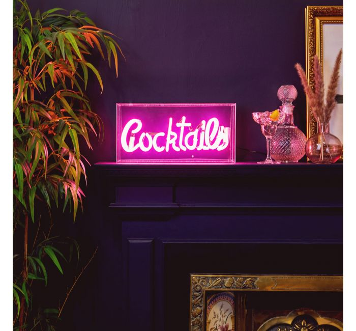 BTFY Cocktails Neon Light perfect as a Mother's Day Gift