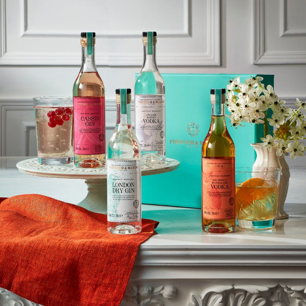 Fortnum's The English Spirits Quartet as a Mother's Day Gift