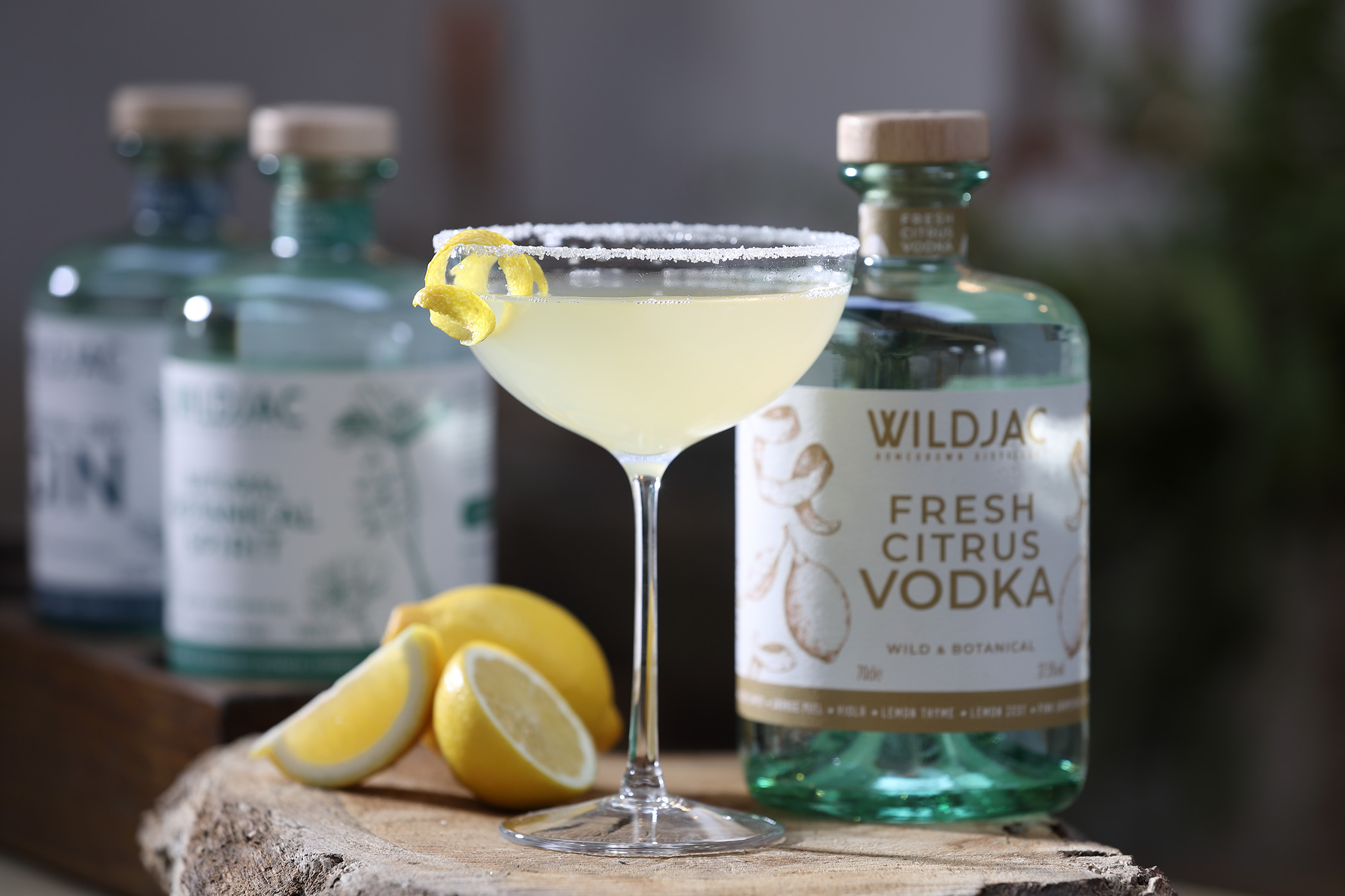 Try The Bee's Knees Cocktail byWildjac Vodka